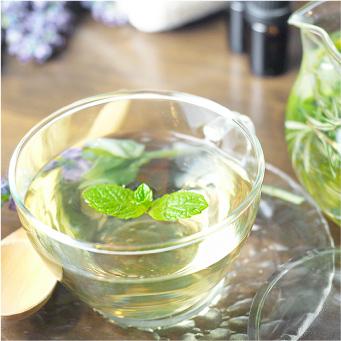 5.ハーブ系の爽やかな味、心地よい癒しの香り